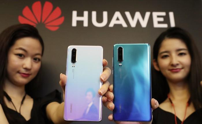 Hai nhà mạng lớn của Nhật Bản hủy lịch tung Huawei P30 Pro lên kệ