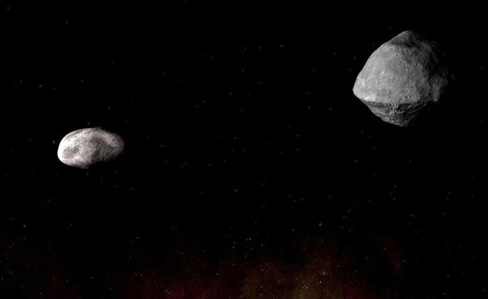 """Sáng ngày mai, một cặp thiên thạch """"có thể gây nguy hại"""" sẽ bay lướt qua Trái Đất ở khoảng cách gần chưa từng có"""
