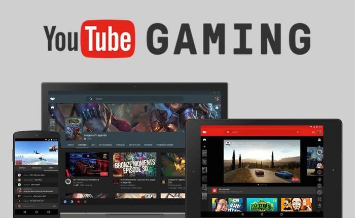 Google sẽ chính thức đóng cửa ứng dụng YouTube Gaming vào ngày 30/5