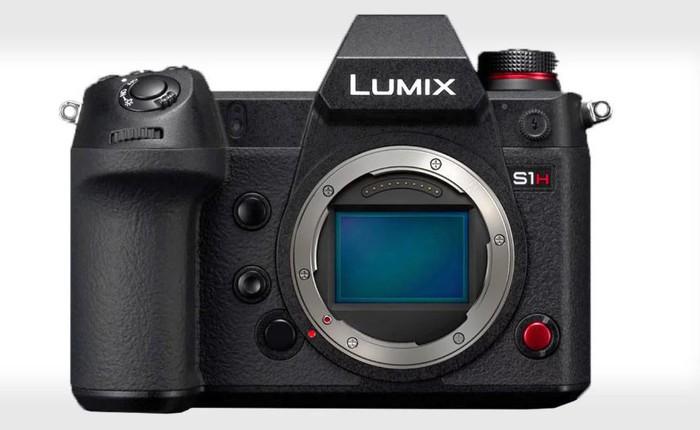 Panasonic công bố Lumix S1H - Máy ảnh không gương lật đầu tiên trên Thế giới có khả năng quay 6K