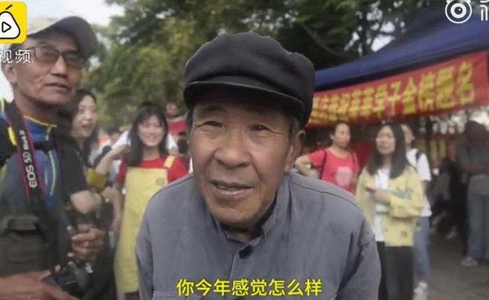 Sau 19 lần thi trượt, cụ ông 72 tuổi mới chịu buông bỏ giấc mơ Đại học