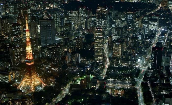 [Video 8K] Ngắm nhìn toàn cảnh thủ đô Tokyo, Nhật Bản thông qua những góc quay tuyệt vời vào ban đêm