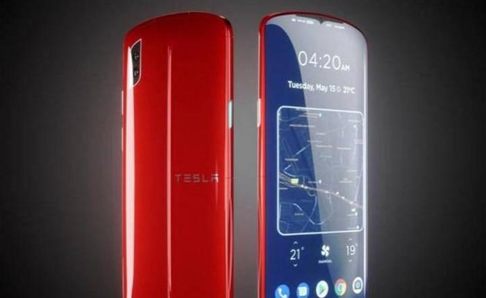 Nếu Tesla gia nhập thị trường smartphone, chiếc điện thoại của hãng trông sẽ như thế nào?