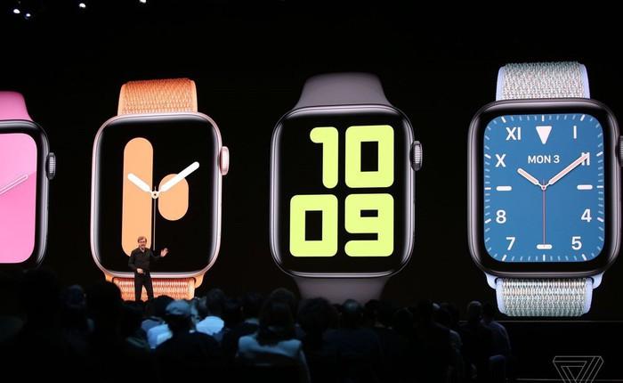 watchOS 6 ra mắt với tính năng theo dõi kinh nguyệt, watchface mới, App Store riêng và một loạt cải tiến về sức khỏe