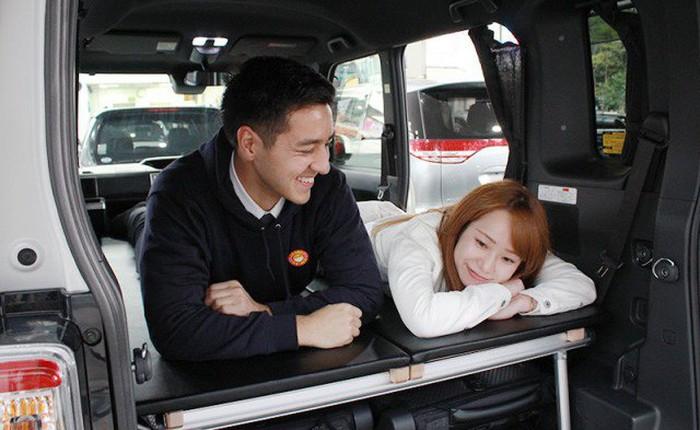 Nhật Bản độ xe thành phòng ngủ di động, chỉ thua phòng khách sạn ở đúng một điểm