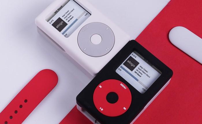"""Đế sạc không dây này sẽ giúp chiếc Apple Watch của bạn """"cải trang"""" thành iPod Classic"""