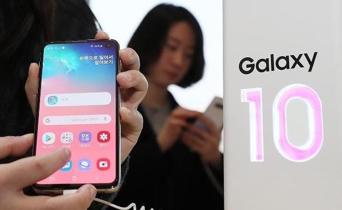 Doanh số Galaxy S10 cao hơn 12% so với thiết bị tiền nhiệm