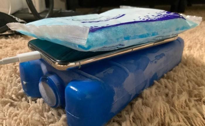Làm iPhone chạy nhanh 'thần tốc' bằng những viên đá lạnh
