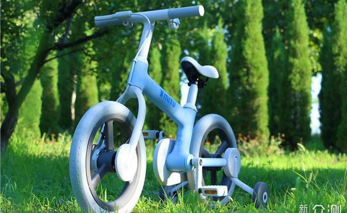 Xe đạp trẻ em của Xiaomi, thiết kế kín hoàn toàn, chất liệu an toàn tối đa, giá 2,6 triệu đồng
