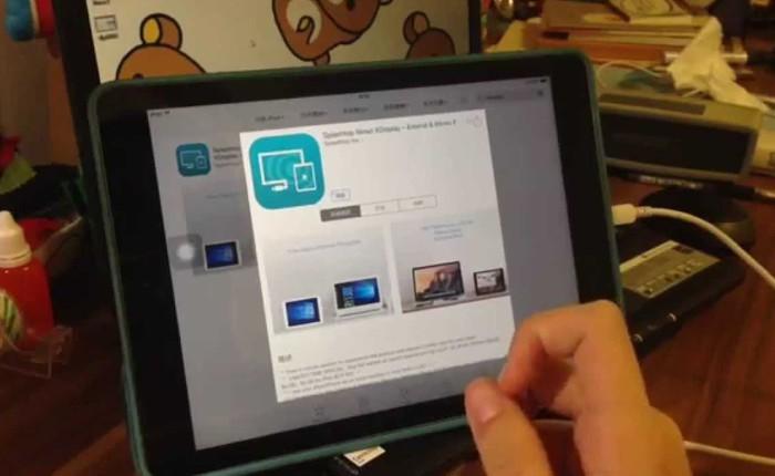 Cách biến iPhone, iPad thành màn hình phụ cho Windows 10