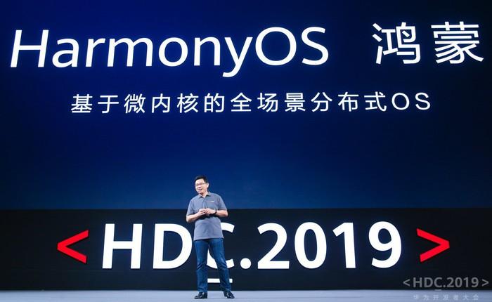 """Huawei ra mắt hệ điều hành riêng """"HarmonyOS"""", khẳng định sẽ chuyển qua HarmonyOS nếu bị cấm dùng Android"""