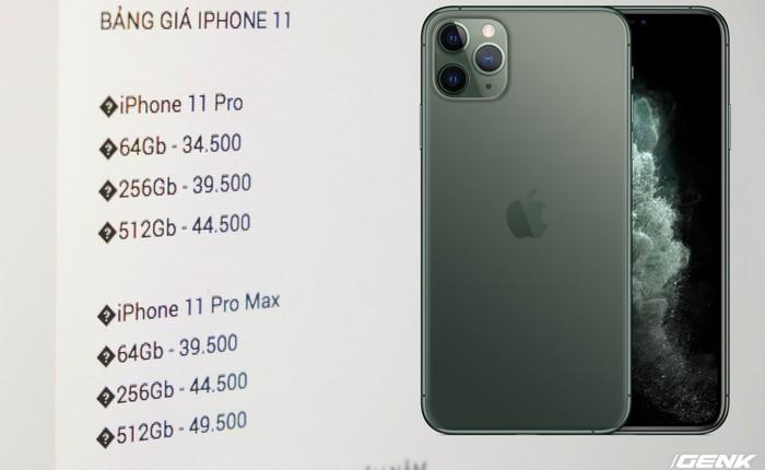 """iPhone 11 Pro Max hét giá 50 triệu vẫn có người mua, iPhone 11 """"giá rẻ"""" lại ế ẩm"""