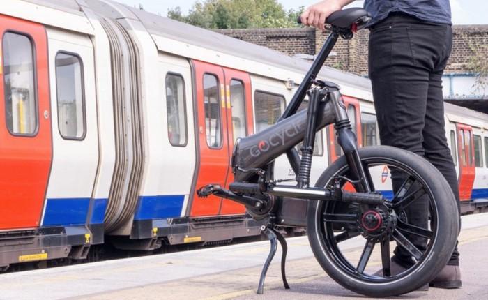 Đây là GoCycle GXi: chiếc xe đạp điện cao cấp như đến từ tương lai, có thể gập lại trong 10 giây, giá ngang Honda SH