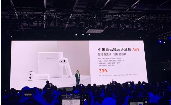 Tai nghe không dây Xiaomi Air 2: Vẫn nhái thiết kế Airpods, chuẩn Bluetooth 5.0, tích hợp chống ồn chủ động, giá chỉ từ 58 USD