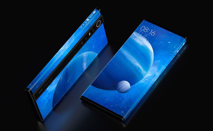Xiaomi Mi MIX Alpha ra mắt với thiết kế không tưởng: Màn hình bao xung quanh thân máy, chiếm tỷ lệ 180%, camera 108MP, giá 2.800 USD