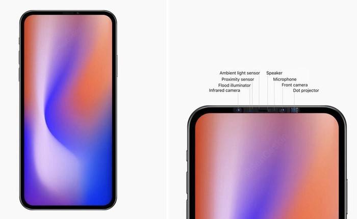 Đây có thể là thiết kế của iPhone 2020, với màn hình không tai thỏ