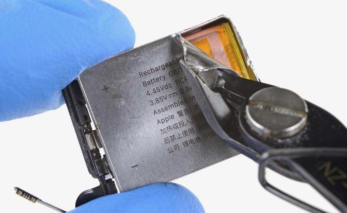 Chỉ một thay đổi nhỏ về thiết kế, Apple Watch phiên bản 40mm mới đã tăng thêm 10% dung lượng pin
