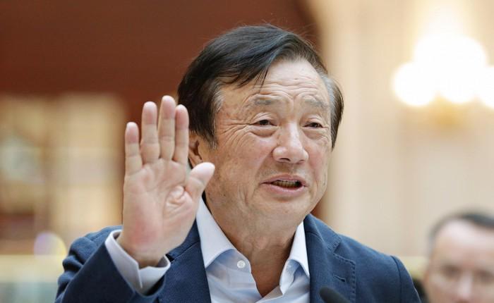 """CEO Nhậm Chính Phi mạnh miệng tuyên bố Huawei có thể """"sống sót"""" mà không cần tới Mỹ"""