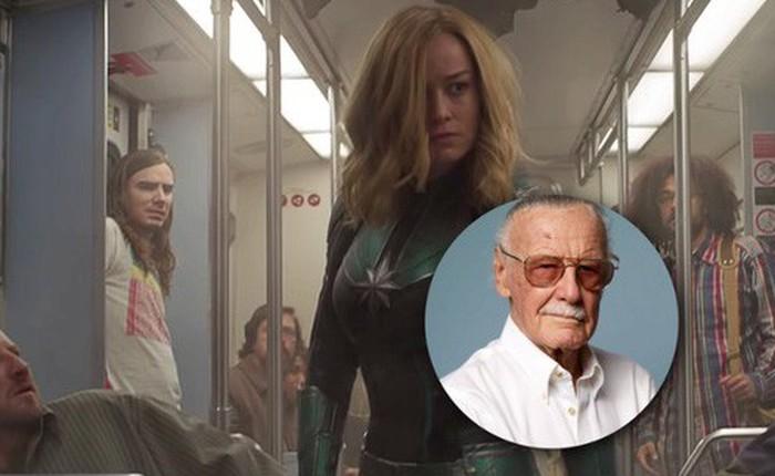 """Màn cameo cảm động của Stan Lee ở """"Captain Marvel"""" được chuẩn bị từ 24 năm trước"""
