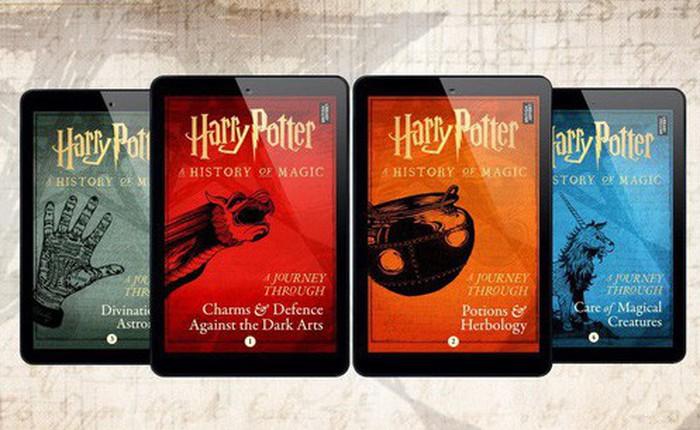 J. K. Rowling sắp trở lại với 4 quyển sách mới tinh về thế giới pháp thuật Harry Potter!