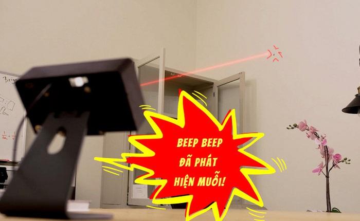 Chiếc máy lazer có khả năng quét cả căn phòng để tìm muỗi không trượt con nào