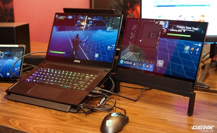 [CES 2020] Cận cảnh màn hình di động MSI Optix MAG161: Hiển thị thêm thông tin cho gamer, gọn nhẹ, có bao da bảo vệ kiêm chân đứng