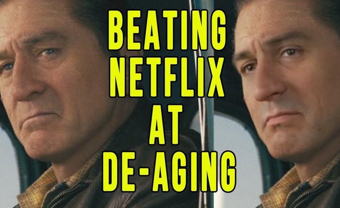 Sử dụng phần mềm miễn phí để hồi xuân Robert De Niro, Youtuber đánh bại CGI đáng giá 100 triệu đô của Netflix