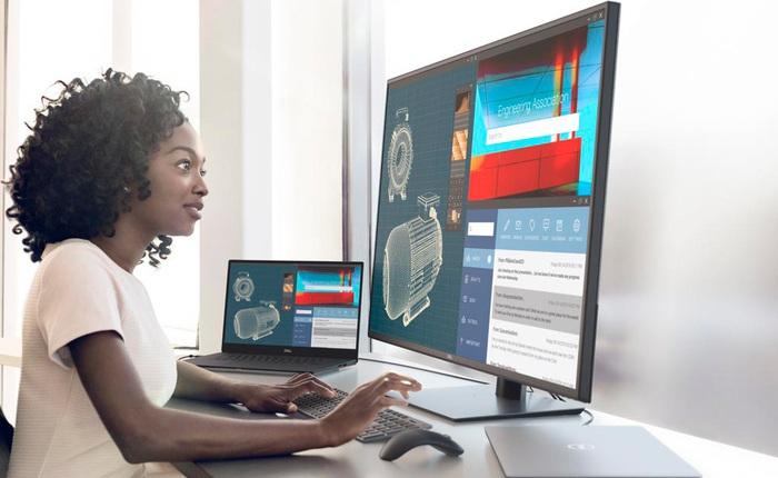[CES 2020] Dell ra mắt màn hình máy tính 42.5 inch 4K, giá 24 triệu đồng