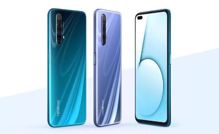 Realme X50 5G ra mắt: Màn hình 6,57 inch 120Hz, chip Snapdragon 765G, tản nhiệt 5 lớp, pin 4.200mAh, giá bán từ 360 USD