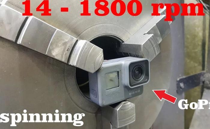 Chóng mặt với thước phim lấy từ GoPro được xoay tròn 1800 vòng trên phút