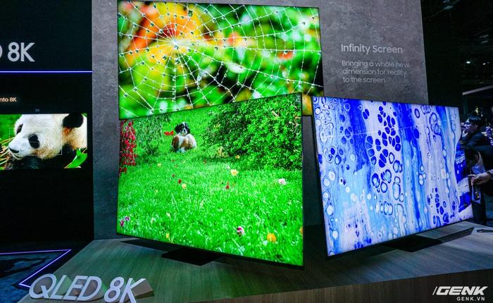 Đây là chiếc TV 8K có thiết kế ấn tượng nhất tại CES 2020