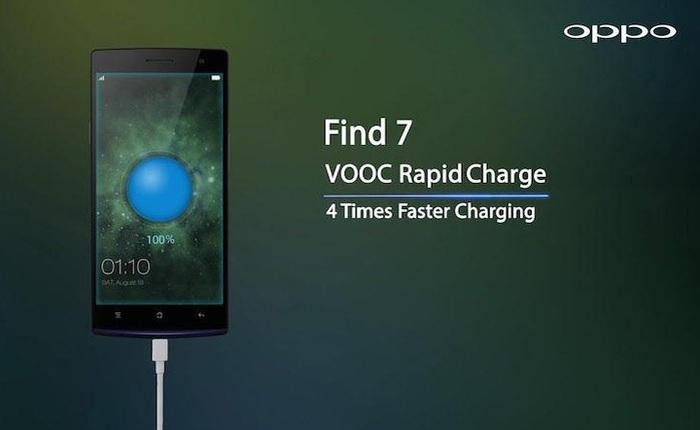 Sạc VOOC khởi động kỷ nguyên sạc nhanh cho các smartphone tầm trung