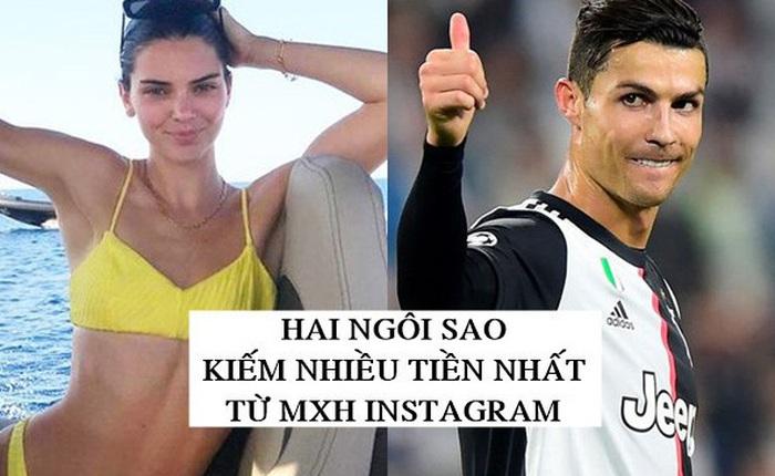 Đăng ảnh lên Instagram - Nghề 'tay trái' giúp các siêu sao như CR7 và Kendall Jenner đã giàu lại càng thêm giàu, bỏ túi cả triệu USD mỗi bài đăng!