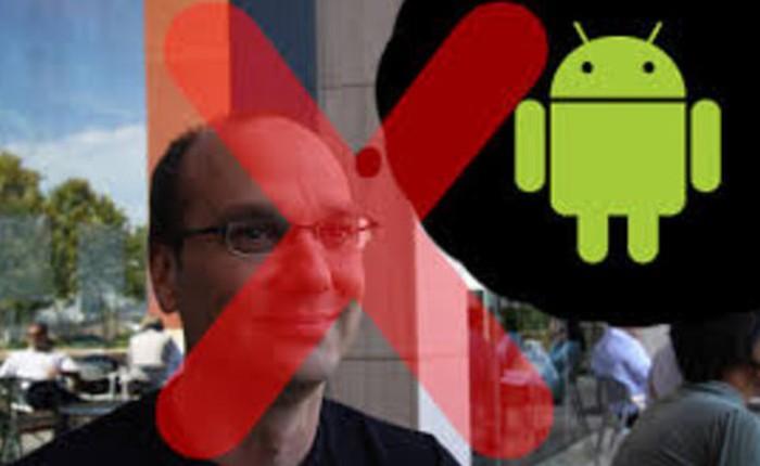Andy Rubin bị giáng chức vì bất đồng với CEO Google