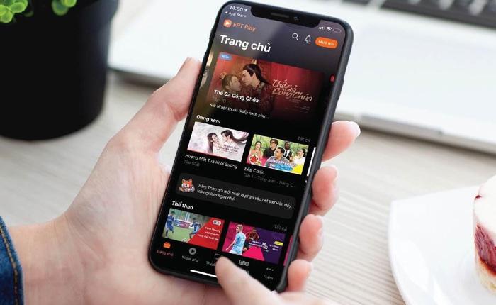 Ứng dụng FPT Play liên tiếp lọt Top AppStore về lượt tải tại Việt Nam