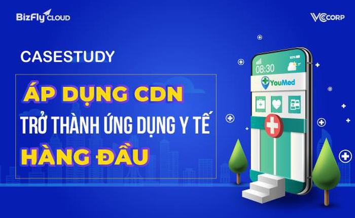 YouMed - Áp dụng CDN trở thành ứng dụng y tế thông minh hàng đầu