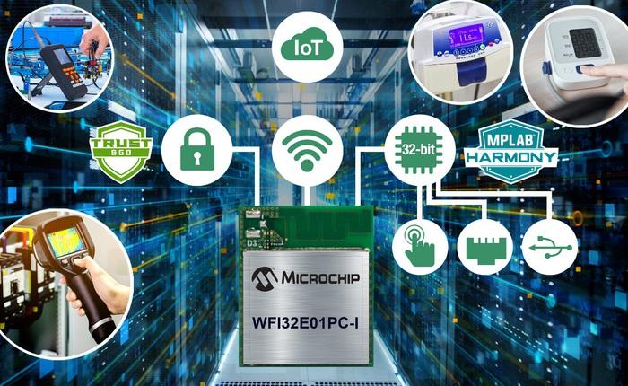 """Microchip tung """"chiến binh"""" mới: Mô-đun vi điều khiển đầu tiên cho thiết bị ngoại vi"""