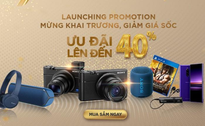Sony ra mắt cửa hàng trực tuyến chính hãng đầu tiên tại Việt Nam với chương trình ưu đãi lên đến 40%