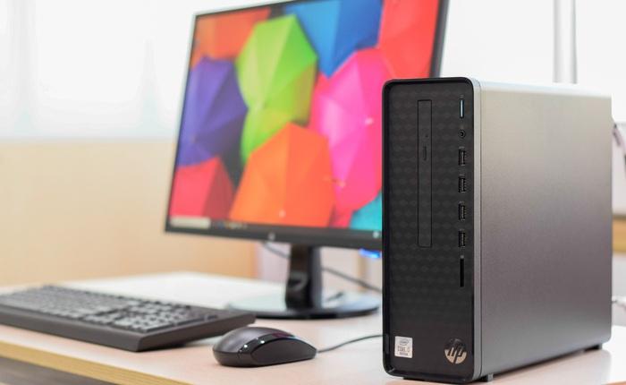 HP Slim S01: Thiết kế hoàn hảo dành cho không gian nhỏ