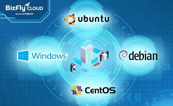 Bí quyết lựa chọn hệ điều hành phù hợp khi triển khai máy chủ ảo