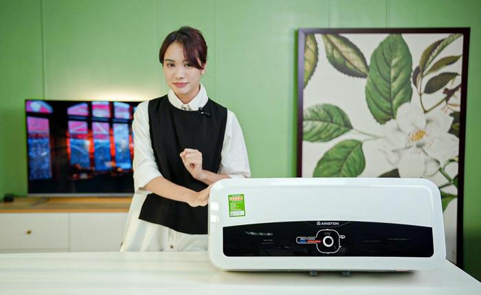 Bình nóng lạnh Ariston Slim2 RS: Lựa chọn tiêu chuẩn Ý an toàn, phù hợp cho gia đình nhỏ trong mùa đông này