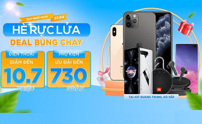 iPhone 12 Pro Max, Galaxy S21 Ultra 5G giảm đến 10,7 triệu tại XTmobile