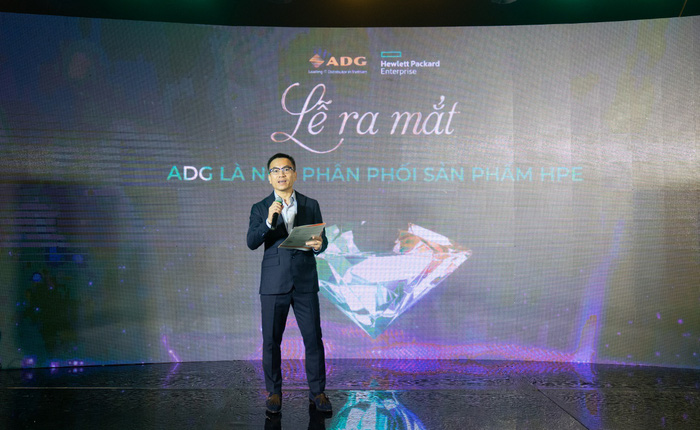 ADG Distribution chính thức trở thành nhà phân phối mới nhất của HPE tại Việt Nam