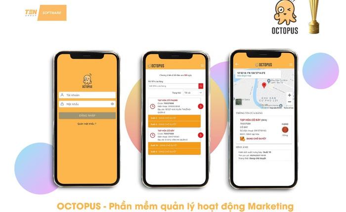 Phần mềm OCTOPUS - giải pháp All-in-one cho ngành bán lẻ