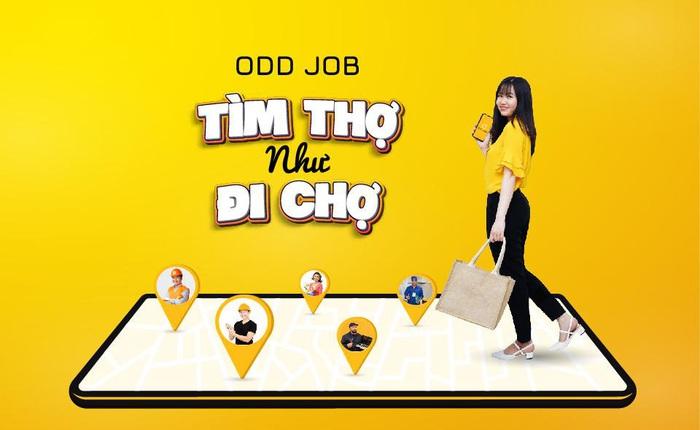 Trải nghiệm tính năng tiện ích để tìm Thợ trên ứng dụng Odd Job