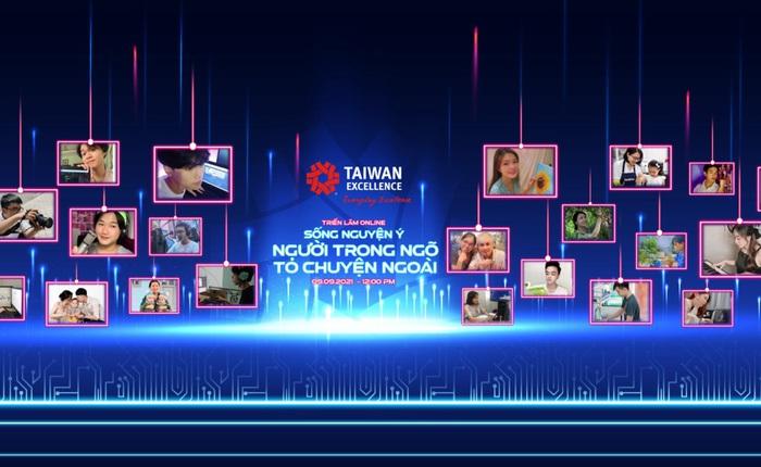 Taiwan Excellence gửi thông điệp tích cực qua buổi triển lãm online