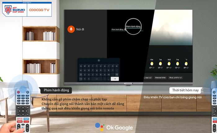 Coocaa TV – Siêu phẩm smart TV đã ra mắt với Android 11 mới nhất