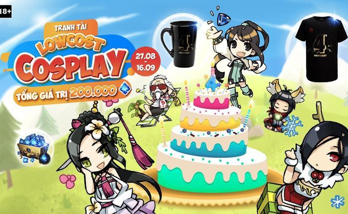 Tham gia ngay loạt sự kiện tưng bừng đón chào sinh nhật 4 tuổi của tựa game Blade & Soul