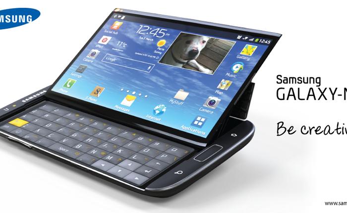 Galaxy NxT: Phablet màn hình 5,5 inch sở hữu bàn phím QWERTY