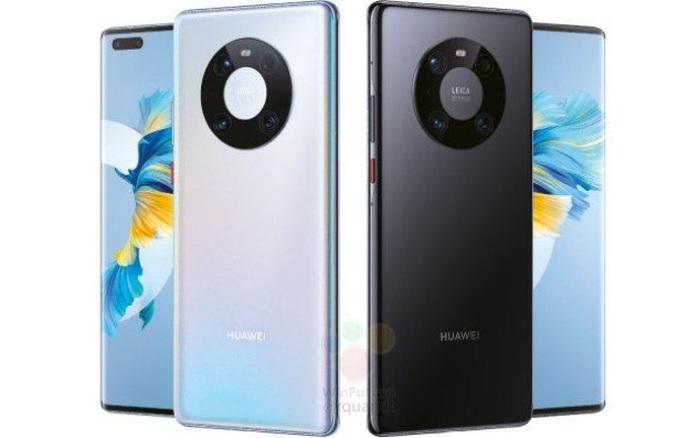Huawei Mate 40 Pro lộ ảnh render: Cụm camera mới, chip Kirin 9000, sạc 65W